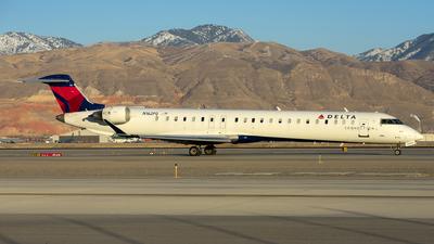 A picture of N162PQ - Mitsubishi CRJ900LR - Delta Air Lines - © Michael Rodeback
