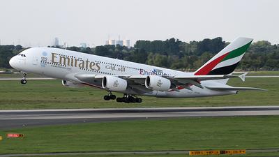 A6-EOA - Airbus A380-861 - Emirates