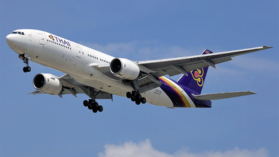 HS-TJU - Boeing 777-2D7(ER) - Thai Airways International