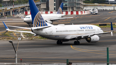 A picture of N33714 - Boeing 737724 - United Airlines - © Alejandro Zárate Gtz