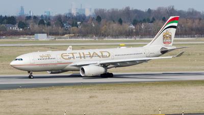 A6-EYL - Airbus A330-243 - Etihad Airways