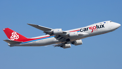 A picture of LXVCC - Boeing 7478R7(F) - Cargolux - © CurtisClyde