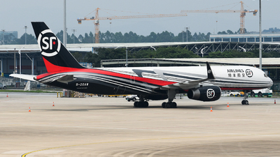 A picture of B20AW - Boeing 757236(PCF) - SF Airlines - © SS8-0002