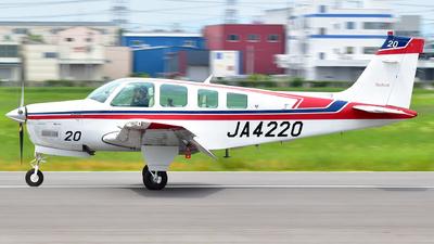 A picture of JA4220 - Beechcraft A36 Bonanza - [E2847] - © Claire.GC8