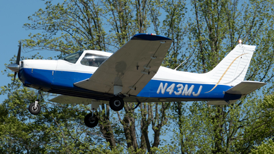 N43MJ - Piper PA-28-151 Cherokee Warrior - Private