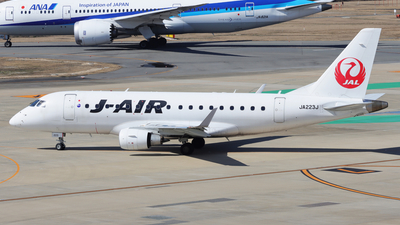 A picture of JA223J - Embraer E170STD - Noble Air Charter - © hk_346_aviation_photography