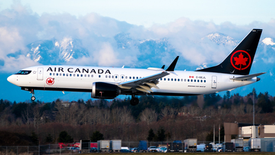 A picture of CGEJL - Boeing 737 MAX 8 - Air Canada - © Derek MacPherson