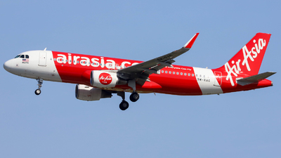 A picture of 9MRAG - Airbus A320216 - AirAsia - © Jeremy Takigawa
