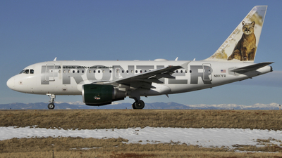 N807FR - Airbus A318-111 - Frontier Airlines