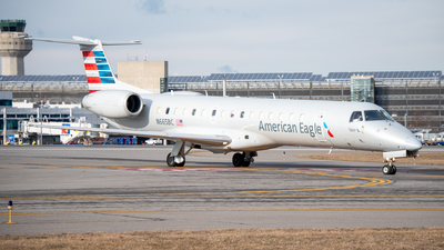 A picture of N665BC - Embraer ERJ145LR - American Airlines - © Jake Sevigny - kmht.jake