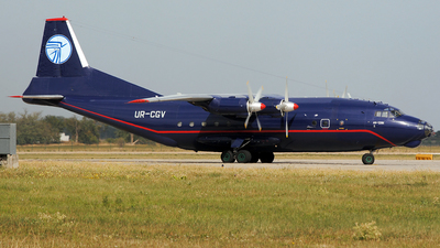 UR-CGV - Antonov An-12BK - Ukraine Air Alliance (UAA)