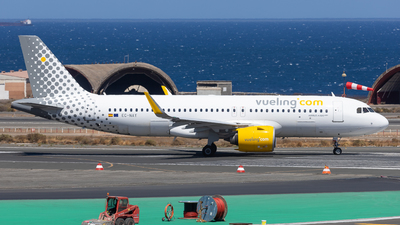 A picture of ECNAY - Airbus A320271N - Vueling - © Marcel Hohl