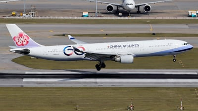 B-18317 - Airbus A330-302 - China Airlines