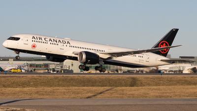 A picture of CFSBV - Boeing 7879 Dreamliner - Air Canada - © Shon Fridman