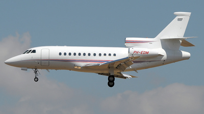 PH-EDM - Dassault Falcon 900C - Jet Management Europe