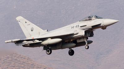 C.16-49 - Eurofighter Typhoon EF2000 - Spain - Air Force