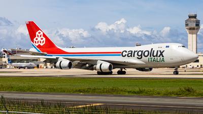 A picture of LXVCV - Boeing 7474R7(F) - Cargolux - © Omar Y. Pérez