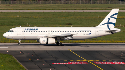 A picture of SXDGR - Airbus A320232 - [3484] - © Fabian Luehrs