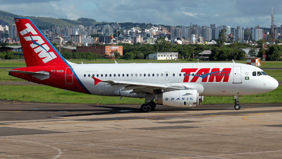 PT-MZB - Airbus A319-132 - TAM Linhas Aéreas