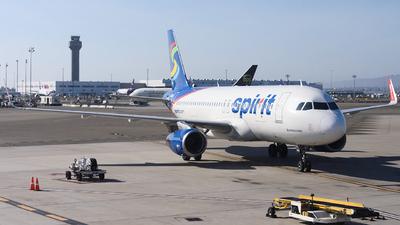 N638NK - Airbus A320-232 - Spirit Airlines