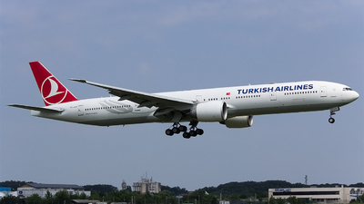 A picture of TCLJF - Boeing 7773F2(ER) - Turkish Airlines - © Mihai Cioponea