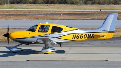N660MK - Cirrus SR22T-GTS Carbon - Private