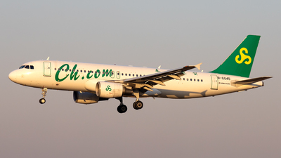 A picture of B6645 - Airbus A320214 - Spring Airlines - © XPHNGB