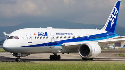 JA808A - Boeing 787-8 Dreamliner - All Nippon Airways (ANA)