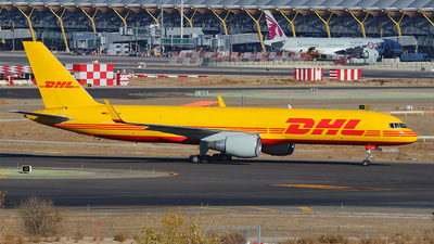 D-ALEP - Boeing 757-2Q8(PCF) - DHL (European Air Transport)