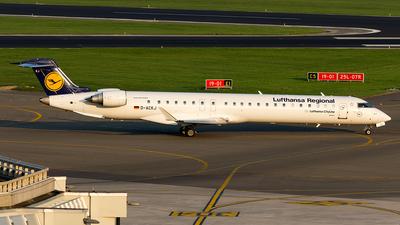 D-ACKJ - Bombardier CRJ-900LR - Lufthansa Regional (CityLine)