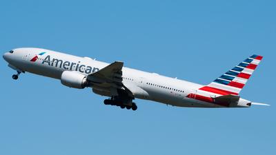 A picture of N771AN - Boeing 777223(ER) - American Airlines - © Wilko Doodhagen