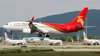 A picture of B5317 - Boeing 73786N - Shenzhen Airlines - © ChengFJ