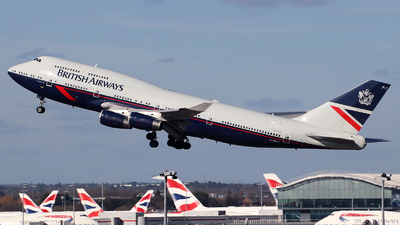 G-BNLY - Boeing 747-436 - British Airways