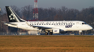 SP-LDK - Embraer 170-100STD - LOT Polish Airlines