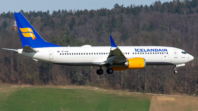 A picture of TFICN - Boeing 737 MAX 8 - Icelandair - © Terry S.