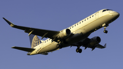 A picture of N86334 - Embraer E175LR - United Airlines - © nicholastoto