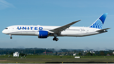 A picture of N19986 - Boeing 7879 Dreamliner - United Airlines - © Thierry Weber