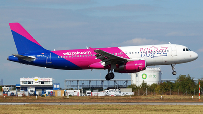 HA-LWI - Airbus A320-232 - Wizz Air