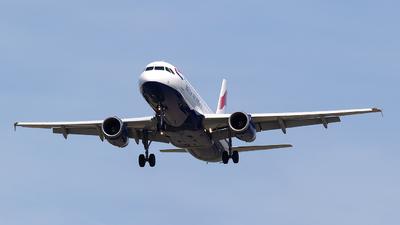 G-GATL - Airbus A320-232 - British Airways