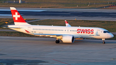 A picture of HBJCN - Airbus A220300 - Swiss - © Brian T Richards
