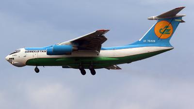 UK-76428 - Ilyushin IL-76TD - Uzbekistan Airways