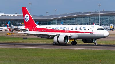 A picture of B325G - Airbus A320271N - Sichuan Airlines - © Shiori Daredemo Daisuki