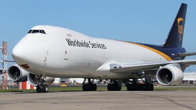 N609UP - Boeing 747-84AF - United Parcel Service (UPS)