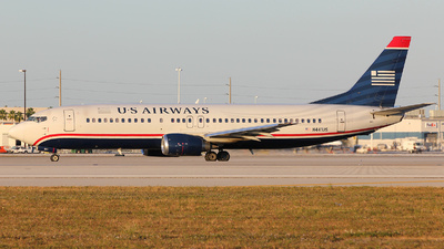 N441US - Boeing 737-4B7 - US Airways