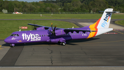 G-ISLL - ATR 72-212A(500) - Flybe (Blue Islands)