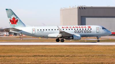 A picture of CFXJF - Embraer E175SU - Air Canada - © Hongyu Wang