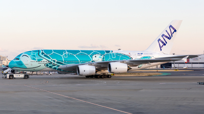A picture of JA382A - Airbus A380841 - All Nippon Airways - © HA-KLS