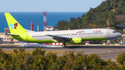 A picture of HL7558 - Boeing 73786N - Jin Air - © YunjaeKim