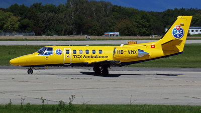 HB-VMX - Cessna 550B Citation Bravo - Touring Club Suisse (TCS)