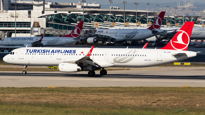 TC-JTG - Airbus A321-231 - Turkish Airlines